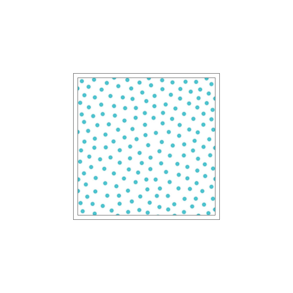 Bella Blvd Transparency Sheet 12x12 inches Clear Cuts Confetti Ice Blue Color Chaos Collection