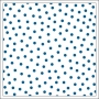 Bella Blvd Transparency Sheet 12x12 inches Clear Cuts Confetti Blueberry Color Chaos Collection
