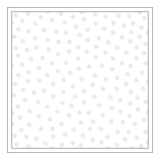 Bella Blvd Transparency Sheet 12x12 inches Clear Cuts Confetti White Color Chaos Collection