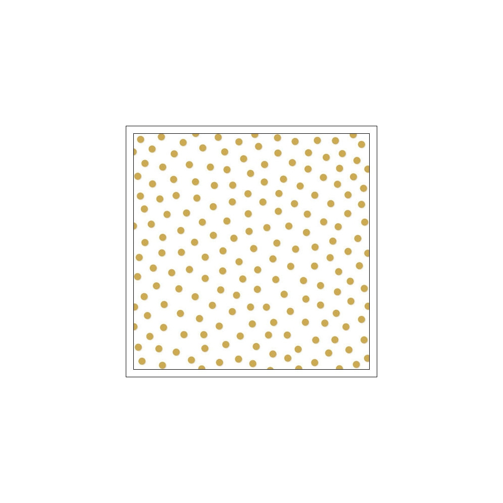 Bella Blvd Transparency Sheet 12x12 inches Clear Cuts Confetti Gold Color Chaos Collection