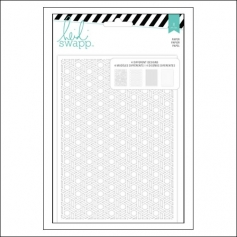 Heidi Swapp Lace Die Cut Paper Sheet Set 5x7 inches Wanderlust Collection