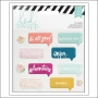 Heidi Swapp Puffy Speech Bubble Stickers Wanderlust Collection