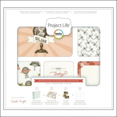 American Crafts Project Life 3x4 inches Core Kit Cards Set Adventure Edition Collection by Celeste Knight