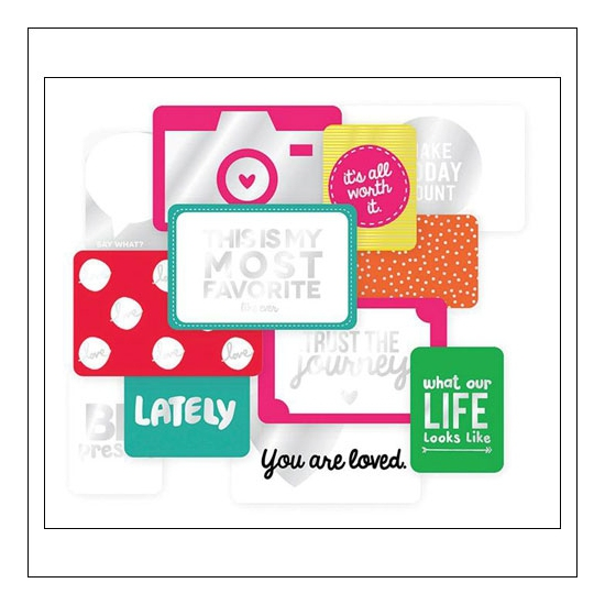 American Crafts Project Life Specialty Cards Confetti Collection by Kristina Proffitt