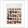 American Crafts Gold Foil Stickers Fine and Dandy Collection by Dear Lizzy