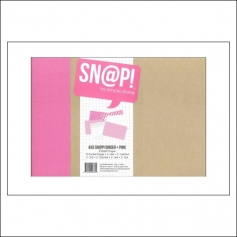 Simple Stories Snap Binder Album Pink 4 x 6 inches Snap Studio Collection