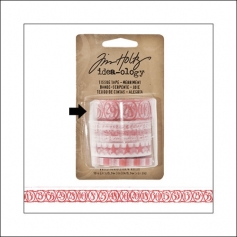 Idea-ology Tissue Tape Roll Merriment Numbers by Tim Holtz