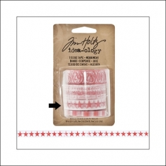 Idea-ology Tissue Tape Roll Merriment Stars by Tim Holtz