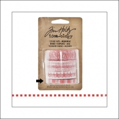 Idea-ology Tissue Tape Roll Merriment Squares by Tim Holtz