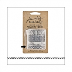 Advantus Idea-ology Tissue Tape Roll Laboratories ZigZag by Tim Holtz