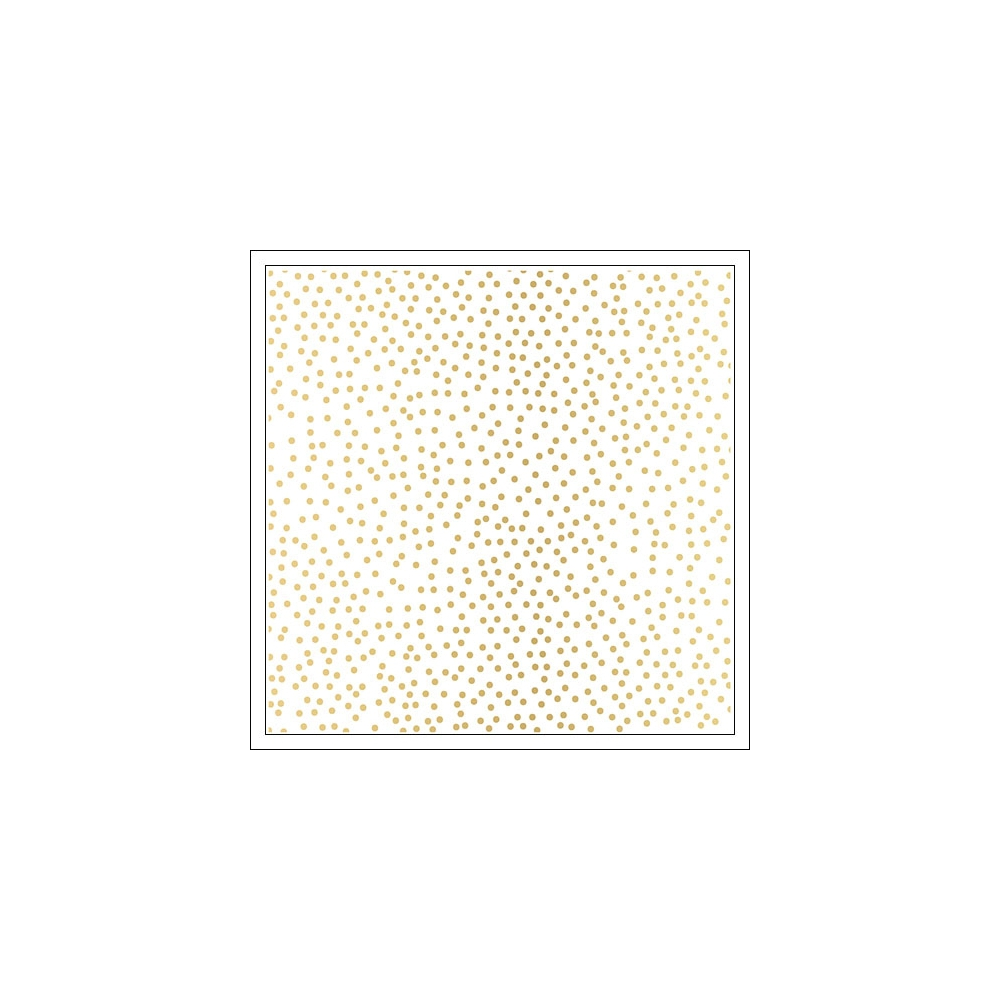 Studio Calico Specialty Paper Sheet Vellum Gold Foil Dots Seven Paper Amelia Collection
