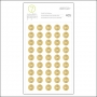 Studio Calico Gold Foil Round Number Stickers Seven Paper Amelia Collection
