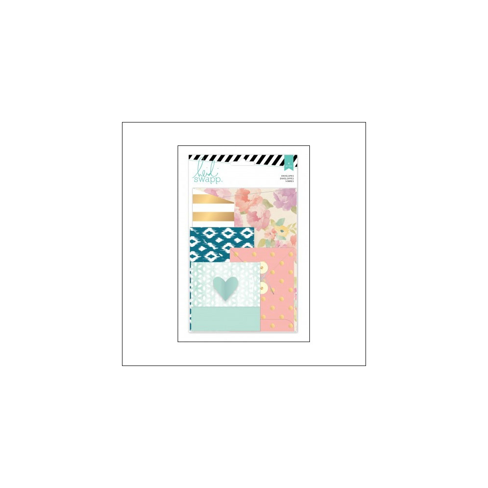 Heidi Swapp Assorted Envelopes Wanderlust Collection