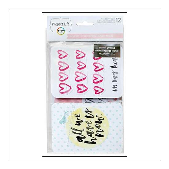 American Crafts Project Life Specialty Cards Inspire Collection by Vanessa Perry