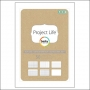 American Crafts Project Life Kraft Journaling Cards 4x6 by Becky Higgins
