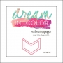 Websters Pages Paperclip Pink Arrow Dream In Color Collection