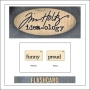 Advantus Idea-ology Elementary Mini Flash Card Funny and Proud by Tim Holtz