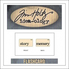 Advantus Idea-ology Elementary Mini Flash Card Story and Memory by Tim Holtz