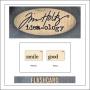 Advantus Idea-ology Elementary Mini Flash Card Smile and Good by Tim Holtz