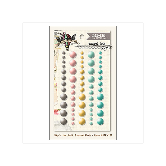 My Minds Eye Enamel Dots Find Your Wings and Fly Collection by Rhonna Farrer