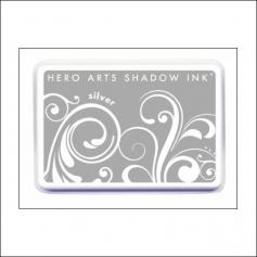 Hero Arts Ombre Ink Pad Shadow Ink Pad Silver