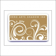 Hero Arts Ombre Ink Pad Shadow Ink Pad Gold