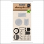 Hero Arts Kellys Planner Clips Stamp and Cut Clearly Kelly Collection by Kelly Purkey