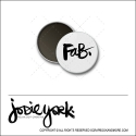 Scrapbook and More 1 inch Round Flair Badge Button White Fab by Jodie York Polka Dot Creative
