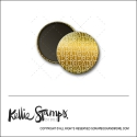 Scrapbook and More 1 inch Round Flair Badge Button Gold Foil Read by Kellie Winnell from Kellie Stamps