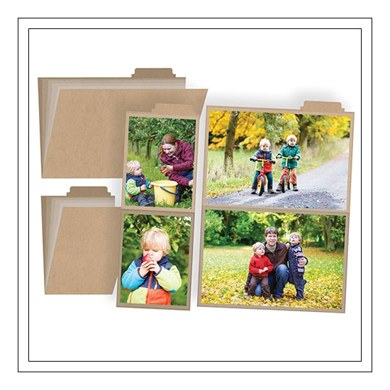 Simple Stories Photo Booklets 3x4 and 4x6 inches Snap Collection