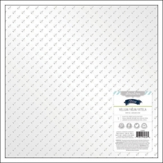 Pink Paislee Specialty Paper Sheet Vellum Silver Foil Captain Atlas Collection