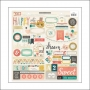 Crate Paper Accent Stickers Wonder Collection