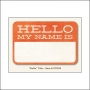 My Minds Eye Title Card Tangerine Hello The Sweetest Thing Collection by Jen Allyson