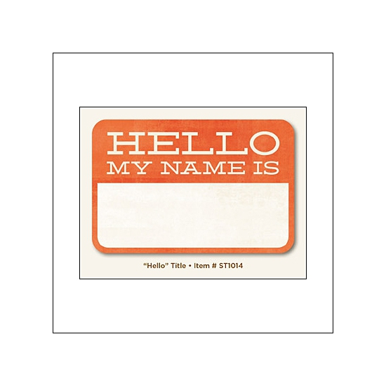My Minds Eye Title Card...
