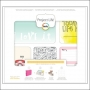 American Crafts Project Life 3x4 inches Core Kit Cards Set High Five Edition Collection by Lili Niclass