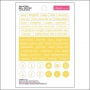 Bella Blvd Little Bits Cardstock Stickers Bell Pepper Just Add Color Collection