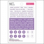 Bella Blvd Little Bits Cardstock Stickers Plum Just Add Color Collection