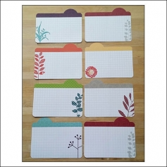 American Crafts Project Life 4x6 inches Bi-Fold Journaling Cards