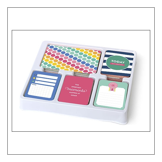 American Crafts Project Life 3x4 inches Core Kit Cards Set Strawberry Edition Collection by Emily Ley