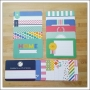 American Crafts Project Life 4x6 inches Core Kit Cards Set Strawberry Edition Collection by Emily Ley