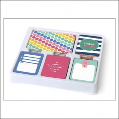 American Crafts Project Life 4x6 inches Core Kit Bi-Fold Cards Set Strawberry Edition Collection by Emily Ley