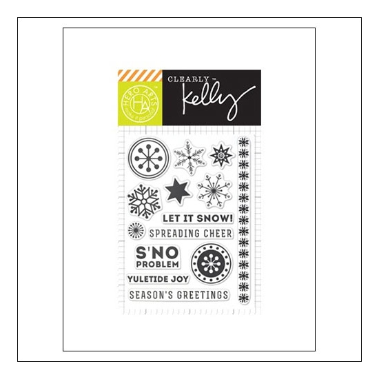 Hero Arts Kellys Sno Problem Clear Stamps Clearly Kelly Collection by Kelly Purkey