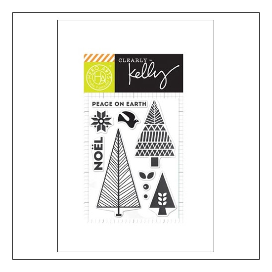 Hero Arts Kellys Noel Clear Stamps Clearly Kelly Collection by Kelly Purkey
