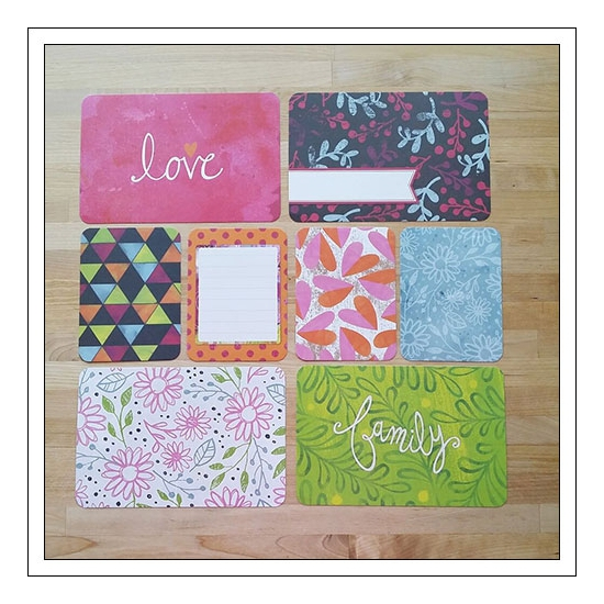 American Crafts Project Life Suggested Placement Cards [first page] Bloom Edition Collection by Jennifer Wambach