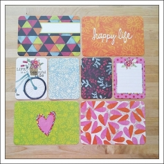 American Crafts Project Life Suggested Placement Cards [last page] Bloom Edition Collection by Jennifer Wambach