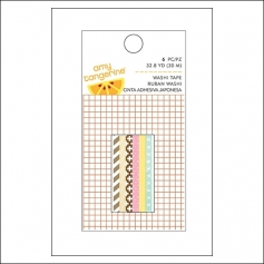 American Crafts Mini Washi Tape Rolls Ruban Finders Keepers Collection by Amy Tangerine