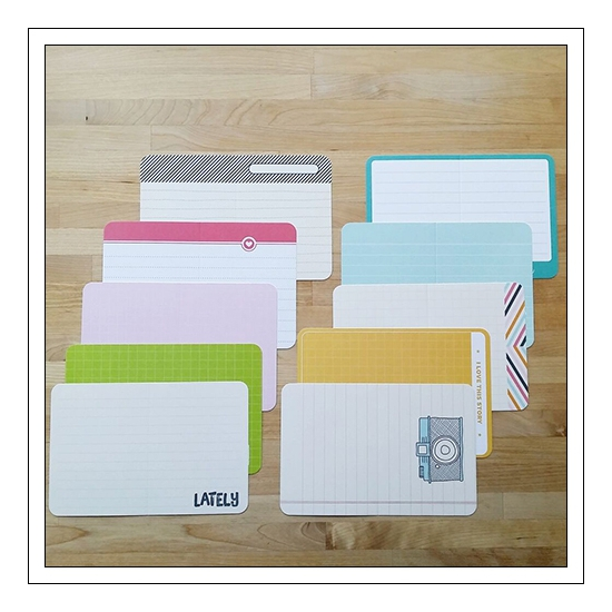 Project Life Core Kit Bi-Fold Cards 4x6 inches Kiwi Edition by Lili Niclass