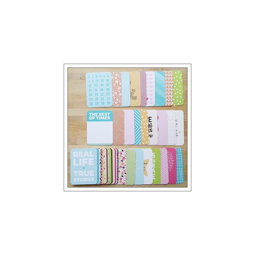 Project Life Core Kit Cards 3x4 inches Kiwi Edition by Lili Niclass