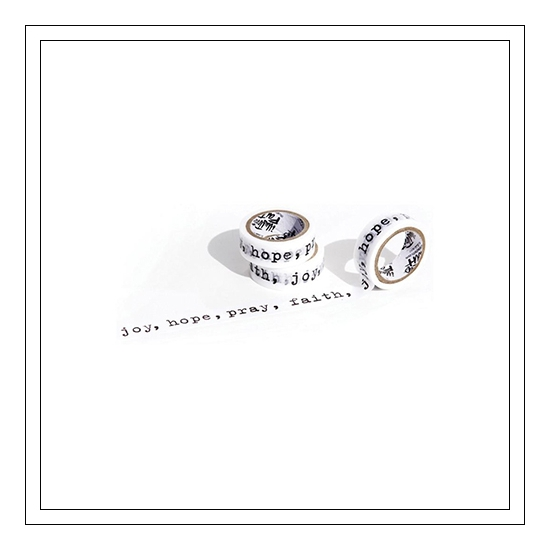 Illustrated Faith Washi Tape Reminders Genesis Collection