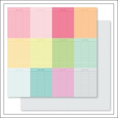 Studio Calico Cardstock Paper Sheet 007 Darcy Collection